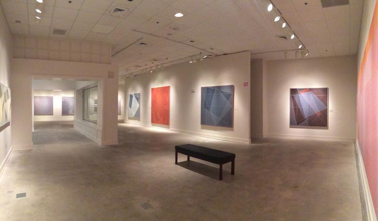 <i>Jack Tworkov: Beyond Black Mountain, Selected Works From 1952–1982</i>, Installation View, Asheville Art Museum (2015)