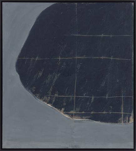 Entry (1965-1967) Oil on linen 40h x 36w in (101.6h x 91.4w cm)