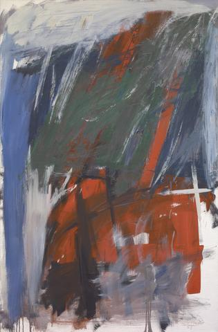 Vulcan (1959) Oil on canvas, 61h x 40w in (154.9h x 101.6w cm) Collection Yale University Art Gallery, New Haven, CT
