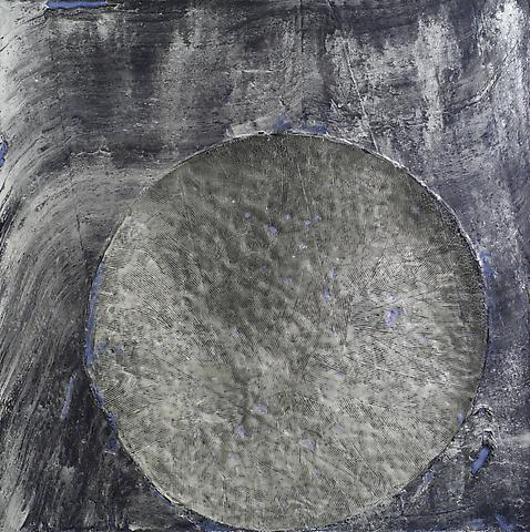 Anthropological Circle (2013) Acrylic on canvas 63h x 63w in (160h x 160w cm)