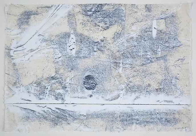 Nemesis 5 (2011) Graphite and acrylic on rice paper 17h x 24.5w in (43.18h x 62.23w cm)
