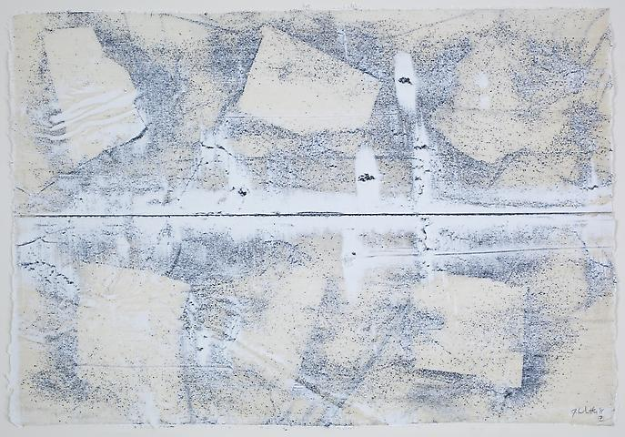 Nemesis 7 (2011) Graphite and acrylic on rice paper 17h x 24.5w in (43.18h x 62.23w cm)