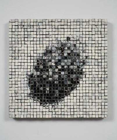 Jack Whitten, Physis II (Dedicated to the Memory of David Budd), 1991 Acrylic on Canvas 16 x 16 in (40.64h x 40.64w cm)