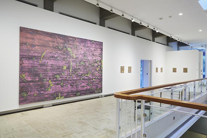 Jack Whitten Rose Art Museum (2013); installation view