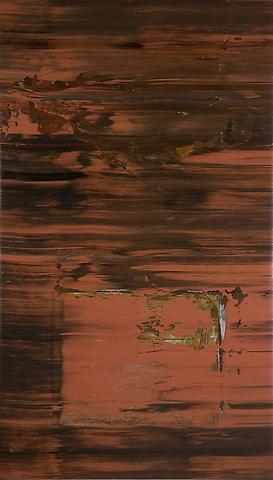 Jack Whitten  Sorcerer's Apprentice (1974) Acrylic on canvas; 88.3h x 50.5w in (224.3h x 128.3w cm)