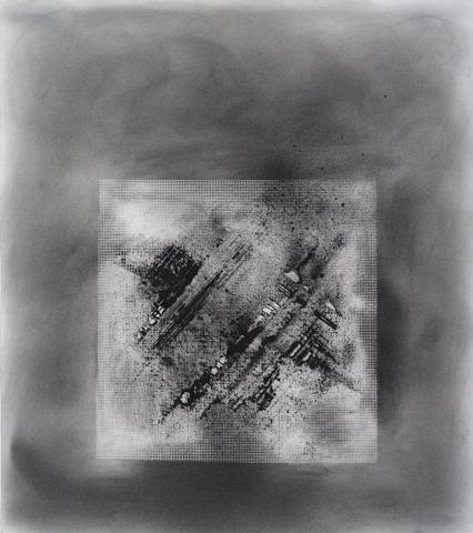 Transmission 'A' #7 (2013) Toner on paper  21h x 19w in (53.34h x 48.26w cm)