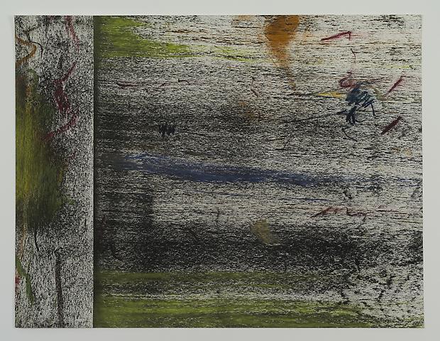 Jack Whitten Untitled Study #5 (1972) Pastel on paper; 20h x 26w in (50.8h x 66w cm)