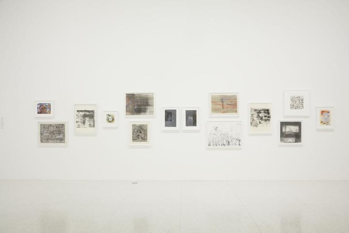 <i>Jack Whitten: Five Decades of Painting</i>, Installation View, Walker Art Center (2015)<br>Photo by Gene Pittman, courtesy Walker Art Center.