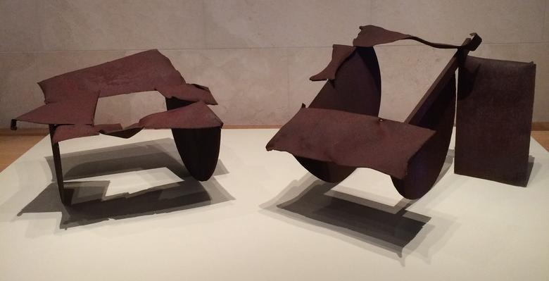 A Conversation with Norman Lewis (1979) Welded steel