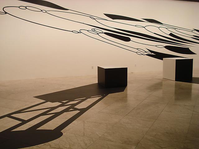 Linha de Sombra, Installation view, Centro Cultural Banco de Brasil (2009)
