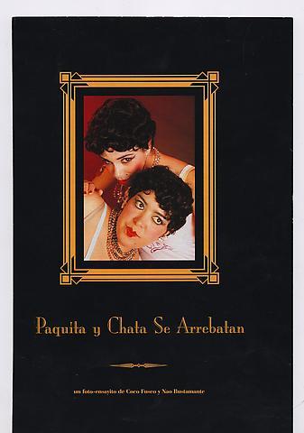 Paquita and Chata (1996) Photograph