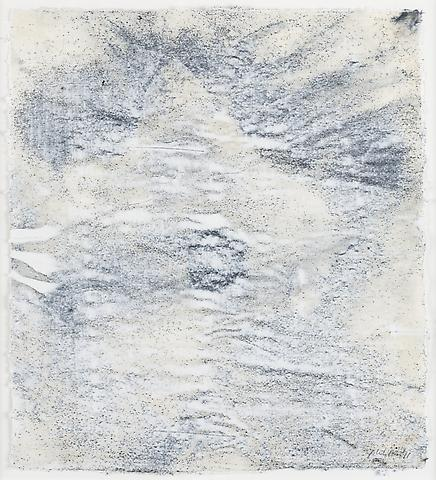 Nemesis 1 (2011) Graphite and acrylic on rice paper 14h x 12.25w in (35.56h x 31.12w cm)