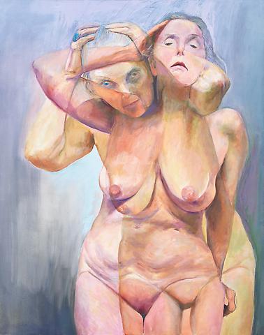 Transformation (2010) Oil on canvas 60h x 48w in (152.4h x 121.92w cm)