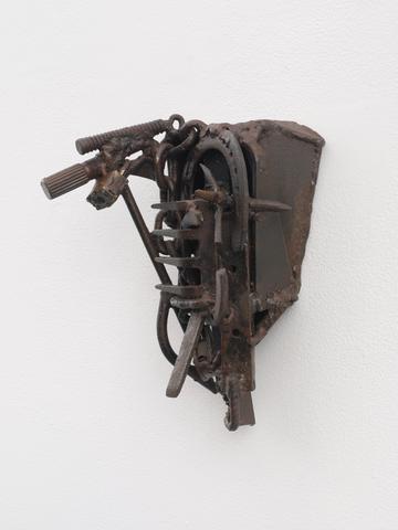 24 Sud Foire (2003) Welded steel 12.5h x 8.5w x 7d in (31.8h x 21.6w x 17.8d cm)