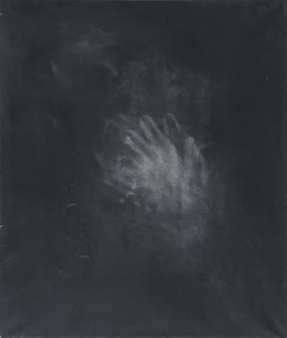 Hide and Seek (1964) Acrylic on canvas 28.1h x 23.9w in (71.4h x 60.7w cm)