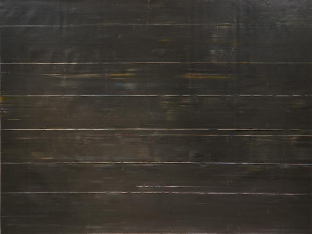 Soho News (1971) Acrylic on canvas 88.25h x 115.75w in (224.16h x 294.01w cm)