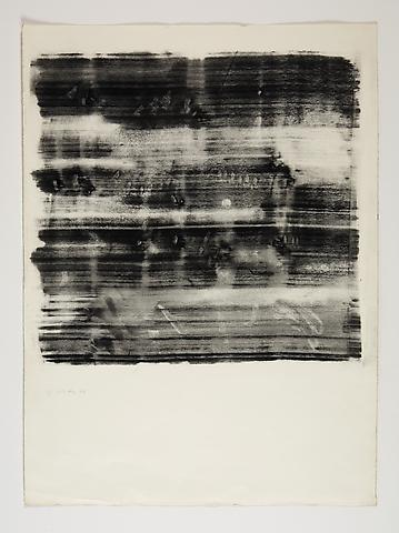 Study for Omalos #3 (1974) Toner on Paper 25.75h x 19w in (65.41h x 48.26w cm)