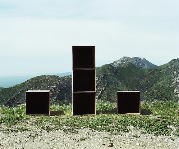 Septuple Cube Formation, No. 1, Santa Barbara (2011) Chromogenic digital print; Edition of 5 with 1 AP 20h x 24w in (50.8h x 60.96w cm)