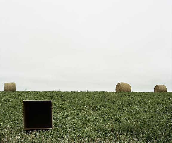 Single Cube Formation, No. 5, Saskatoon, SK (2011) Chromogenic digital print; Edition of 5 with 1 AP 20h x 24w in (50.8h x 60.96w cm)