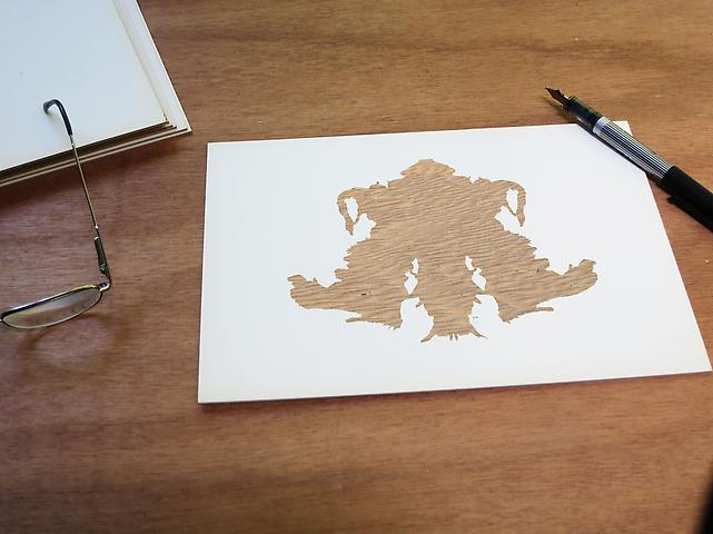 Luis Camnitzer; Rorschach Series, Rorschach 4 (2012) Digital C-print; 24h x 18w in (60.96h x 45.72w cm) Edition of 3 with 1 AP
