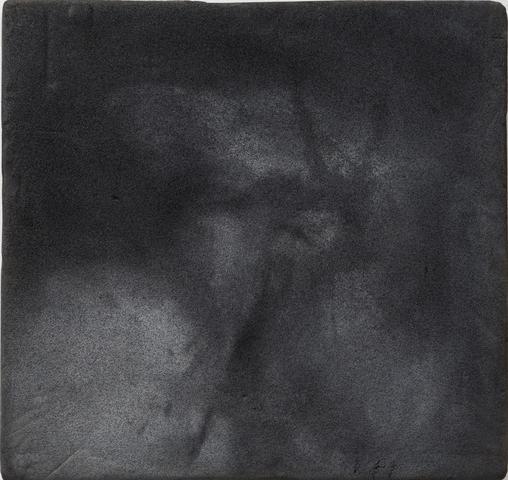 Christ (1964) Acrylic on canvas 15h x 16w in (38.1h x 40.6w cm)
