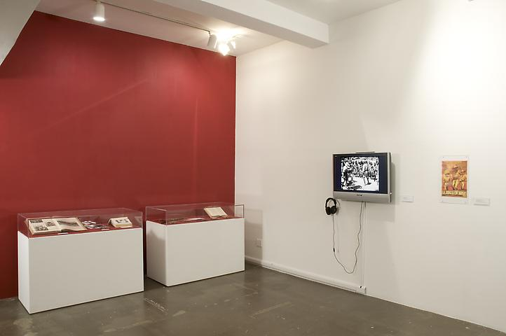 Buried Pigs with Moros (2008) Installation
