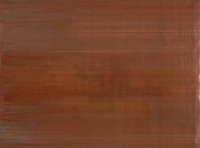 Testing (Slab) (1972) Acrylic on canvas 70.8h x 95.3w in (179.8h x 242.1w cm)