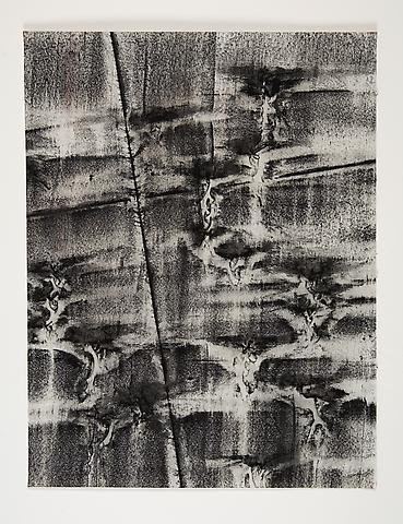Broken Spaces IV (1974) Toner on paper 22h x 17w in (55.88h x 43.18w cm)