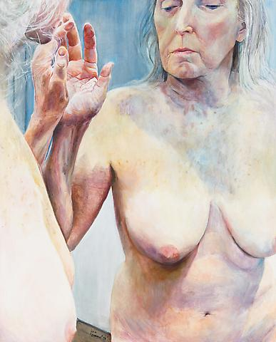 Skin Patterns (2013) Oil on canvas 59.5h x 48w in (151.13h x 121.92w cm)