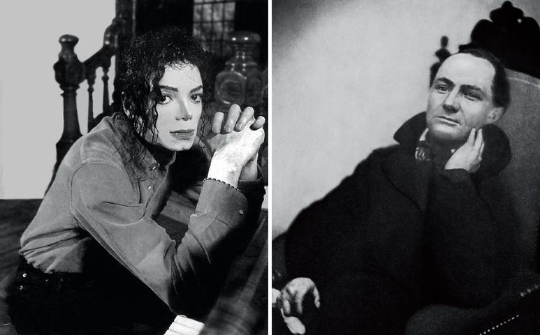 The First and the Last of the Modernists, Diptych 4 Grey (Michael and Charles)  (2010) Fujiflex print 46.8h x 37.4w in (118.9h x 95w cm)