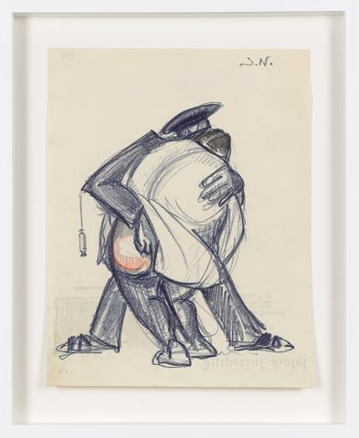 Untitled (c. 1931) Colored pencil on paper 10.67h x 8.27w in (27.1h x 21w cm)