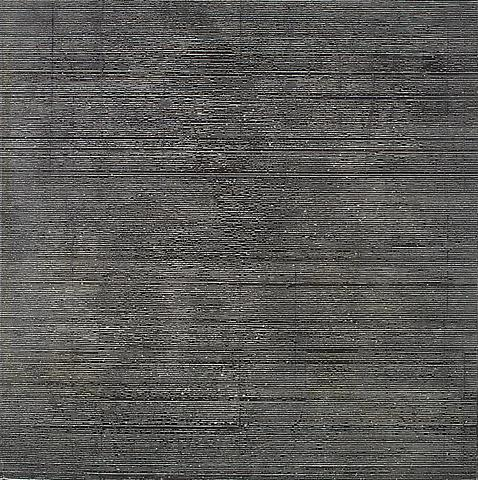 Nee I (1977) Acrylic on canvas 64h x 64w in (162.56h x 162.56w cm)