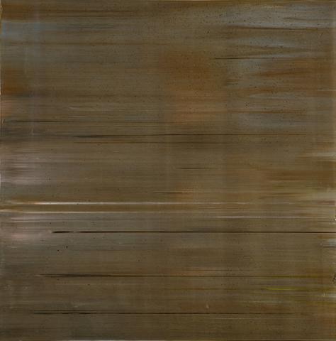 Second Testing (Slab) (1972) Acrylic on canvas 35.4h x 34.25w in (89.9h x 87w cm)