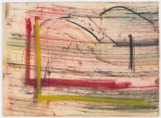 Study for Lapsang and Chinese Sincerity #11 (1975) Pastel on paper 9.5h x 13w in (24.13h x 33.02w cm)