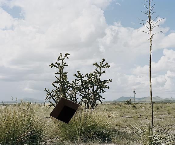 Single Cube Formation, No. 3, Marfa, TX (2011) Chromogenic digital print; Edition of 5 with 1 AP 30h x 36w in (76.2h x 91.44w cm)