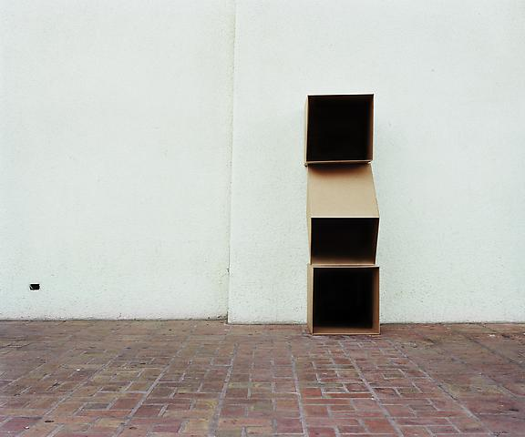 Triple Cube Formation, No. 1, Santa Barbara (2011) Chromogenic digital print; Edition of 5 with 1 AP 20h x 24w in (50.8h x 60.96w cm)