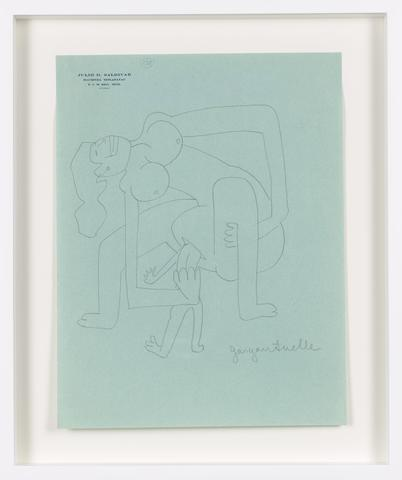 Untitled (c. 1931) Graphite on paper 10.98h x 8.43w in (27.9h x 21.4w cm)