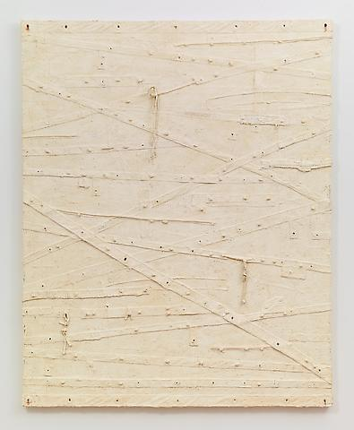 Blanco (2012–2013) Oil and mixed media on canvas 90.5h x 73.5w in (229.87h x 186.69w cm)