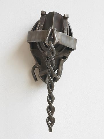Melvin Edwards Spring  (1973) Welded steel; 11h x 6w x 8d in (27.94h x 15.24w x 20.32d cm)