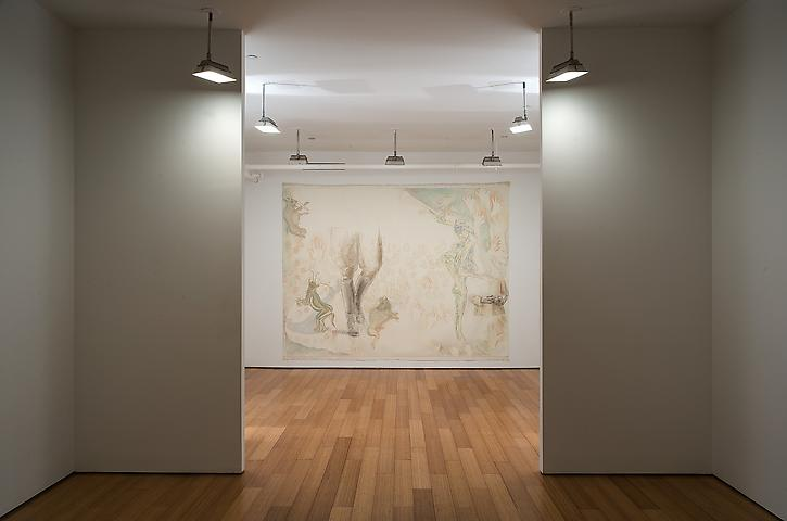 Jo Baer (2007) Installation view Alexander Gray Associates