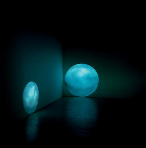 Lunar (Moonspace) (2003) Projection; Dimensions variable Edition of 3 with 1 AP