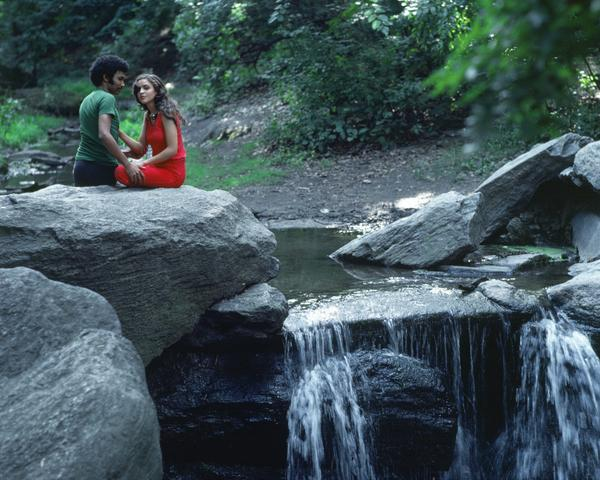 Rivers, First Draft: Their flirtation begins (1982/2015) Digital C-print from Kodachrome 35mm slides in 48 parts, 16h x 20w in (40.6h x 50.8w cm) Edition of 8 with 2 AP