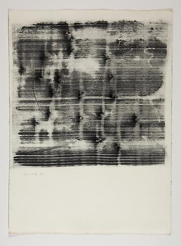 Study for Omalos #4 (1974) Toner on Paper 25.75h x 19w in (65.41h x 48.26w cm)