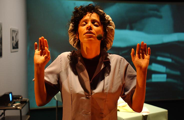 The Incredible Disappearing Woman (2003) Performance