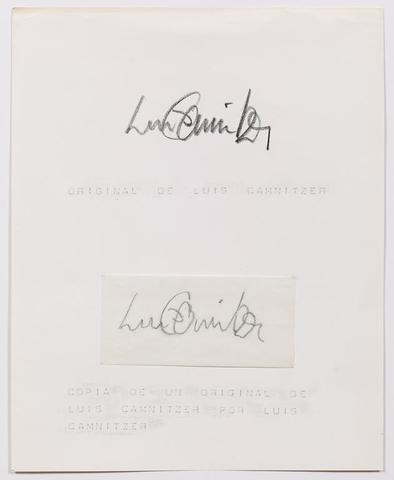 Original y Copia (1971) Ink and graphite on paper 10h x 8w in (25.4h x 20.3w cm)
