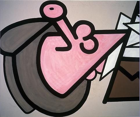 Featureless (Four) 2005 40 x 52 inches Acrylic on canvas