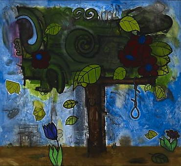 Time Storm Three (Tree of Life) 2005 - 2010 Mixed media on canvas 107 3/4 x 118 1/4 inches  273.68 x 300.35 cm