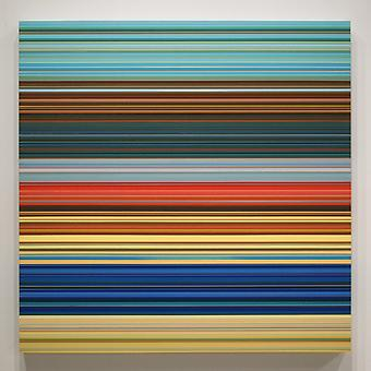 LAURA PAYNE Synopsis I 2012, acrylic on panel, 36 x 36 inches