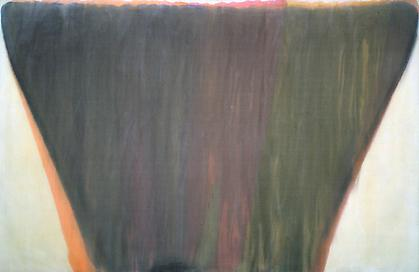 Morris Louis  - Plenitude 1958, acrylic resin on canvas, 90 7/8 x 140 inches. (c)1993 Marcella Louis Brenner.