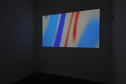 Conversations in Lyrical Abstraction Jeremy Blake - Mod  Lang installation view